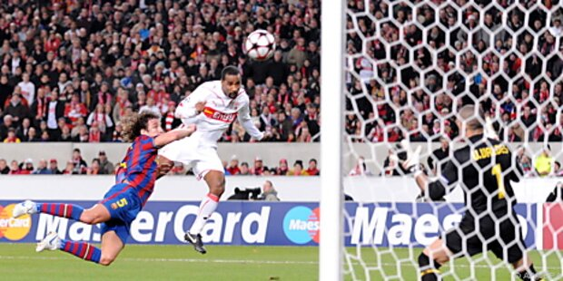 Champions League: Barcelona holte 1:1 in Stuttgart