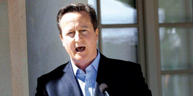 Cameron verteidigt