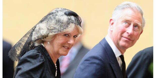 Charles und Camilla beim Papst