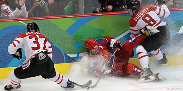 Kanada demütigte im Eishockey Russland: 7:3