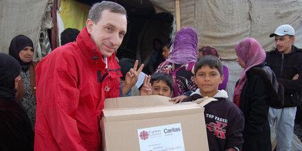 Hilfe für syrische Flüchtlinge