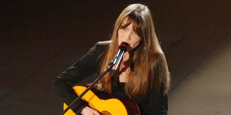 Carla Bruni rockt bei Echo-Gala