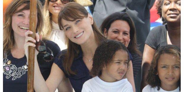Carla Bruni: Adoption nicht ausgeschlossen