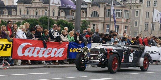 Gaisbergrennen in der Salzburger Altstadt