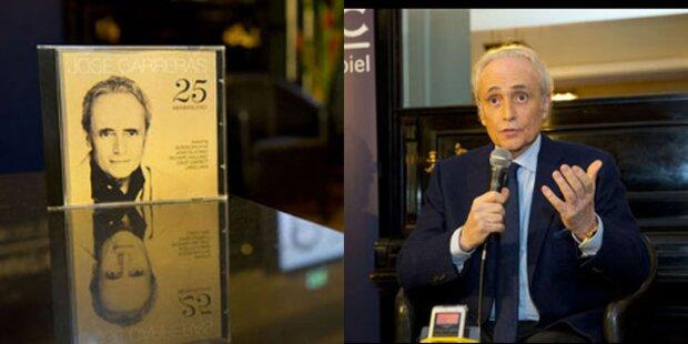 Jose Carreras präsentiert neues Album in Wien