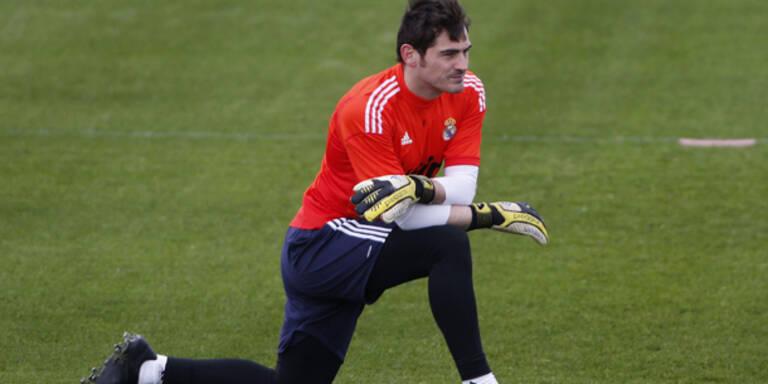 Real-Goalie Casillas droht mit Abschied