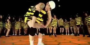 Casper Smart als breakdancende Biene