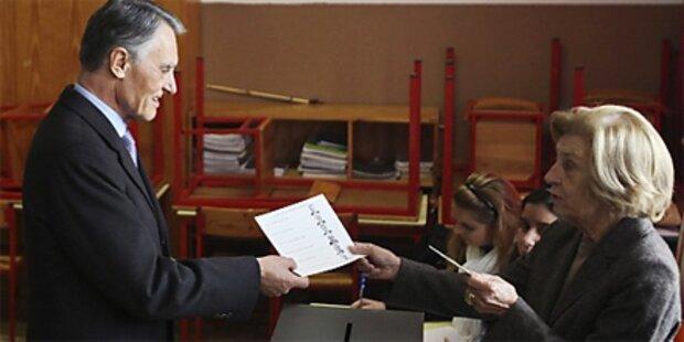 Wiederwahl von Cavaco Silva erwartet