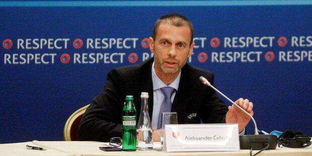 UEFA-Boss warnt vor zu spätem Saisonende