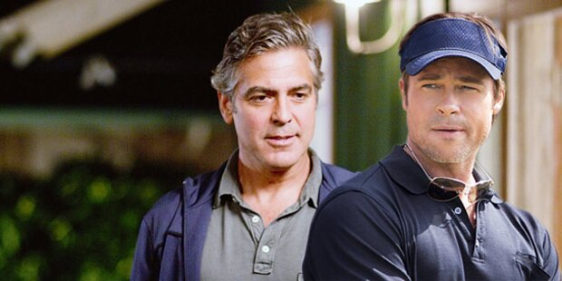 Golden Globes: Clooney gegen Pitt