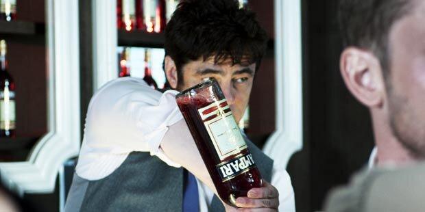 Benicio Del Toro ist der Campari-Mann