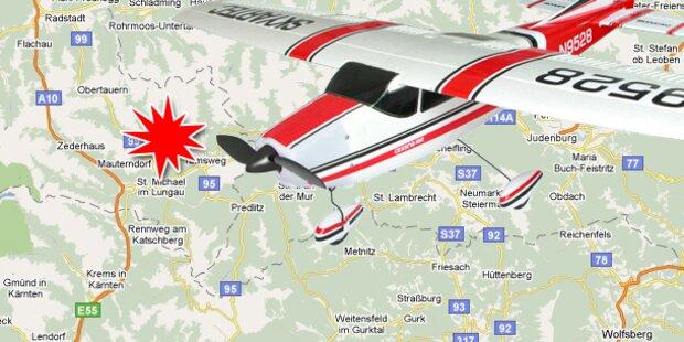 Cessna-Absturz im Lungau fordert Verletzte