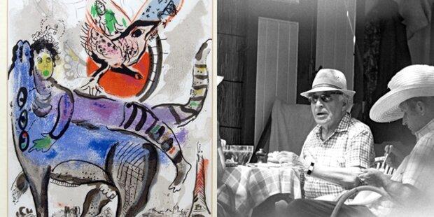 Madrid lockt 2012 mit Chagall
