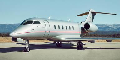 Exklusive Einblicke in einen Business-Jet