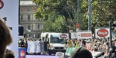Notfall sorgte für Chaos beim Wien-Marathon