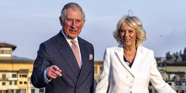 Charles und Camilla zu Besuch