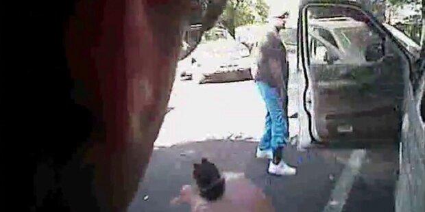 Polizei von Charlotte veröffentlichte Videos