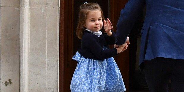 Prinzessin Charlotte stiehlt allen Show