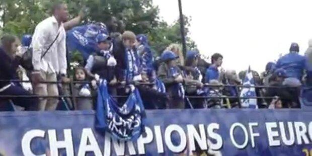 London feiert seine Fußball-Champions