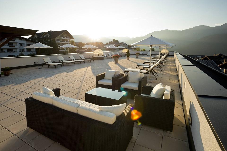 Chesa Monte Dachterrasse - Gewinnspiel - Mein oe24 - Österreich-Urlaub 2000 Punkte