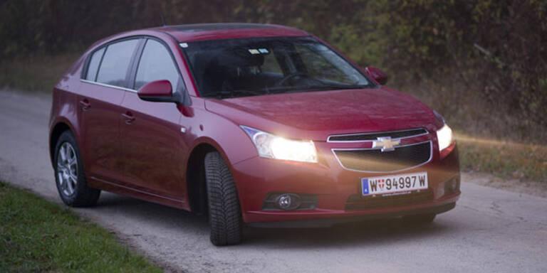 Chevrolet Cruze mit Fließheck im Test