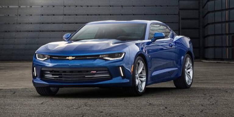 Chevrolet greift mit neuem Camaro an