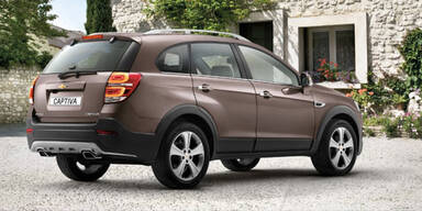 Facelift für den Chevrolet Captiva