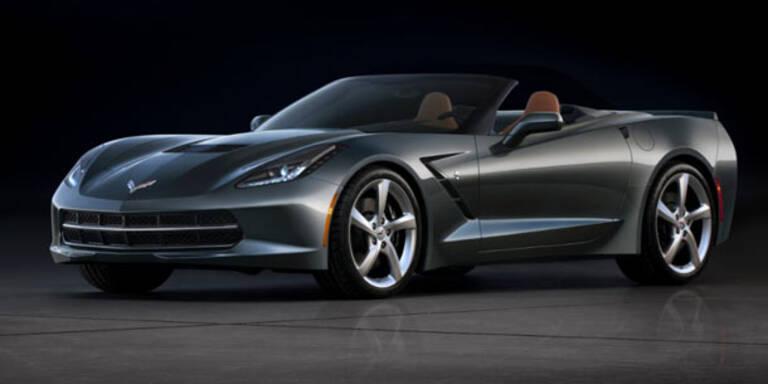 Das ist das neue Corvette C7 Cabrio