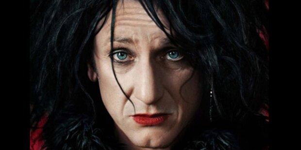 Geschminkter Sean Penn jagt Nazis