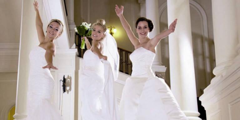 Chic & günstig: Top-Kleider für jede Braut