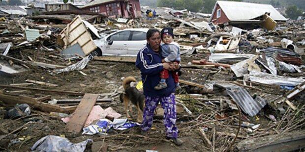 Heftiges Erdbeben in Chile ohne Verletzte