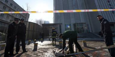 Zehn Tote bei Hochhausbrand in China