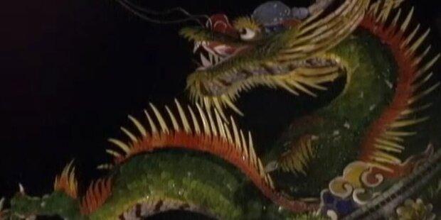 Chinesen feiern das Jahr des Drachen
