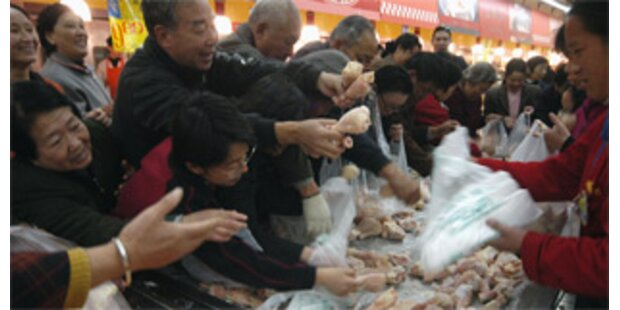 Chinesen in Supermarkt zu Tode getrampelt