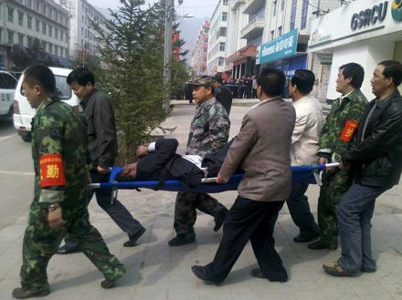 Attentat China