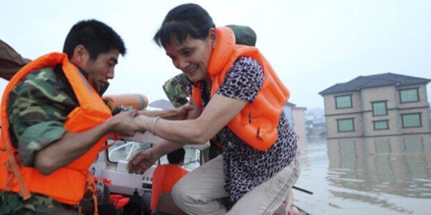 Hochwassersituation in China dramatisch