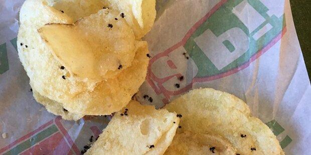 Diese Chips hätte sie lieber nicht essen sollen