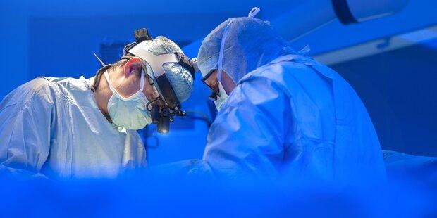 Chirurgen nähten abgetrennte Hand wieder an