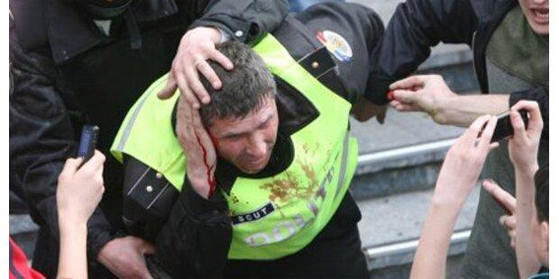 193 Festnahmen in Moldawien