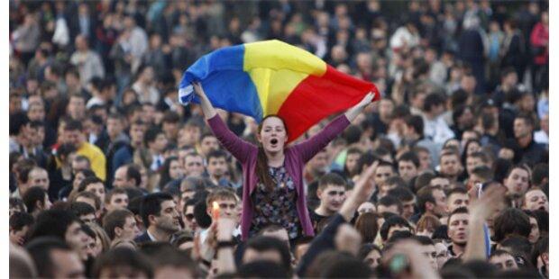 Eine Tote bei Protesten in Moldawien