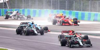 Ocon gewinnt Chaos-GP von Ungarn