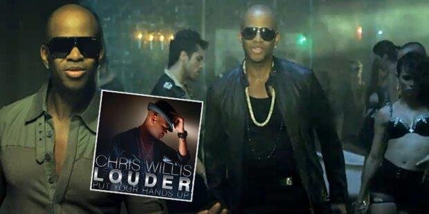 "Chris Willis: Erste Single heißt ""Louder"""