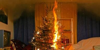 Rückgang bei Christbaumbränden