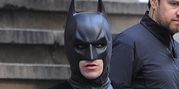 Batman hält Bad Ischl in Atem