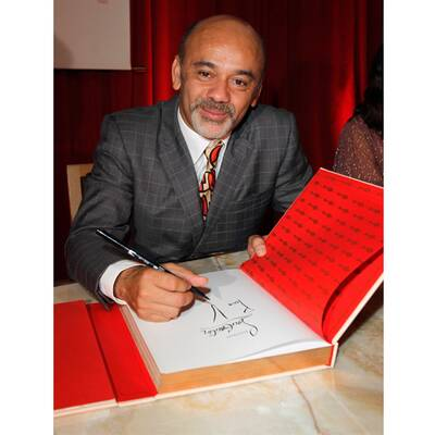 Christian Louboutin Book Launch Party