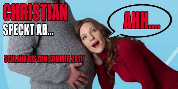 Antenne Moderator Christian speckt ab