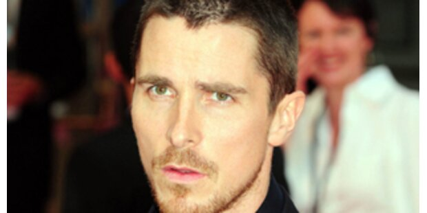 Christian Bale: Wüster Auszucker am Set