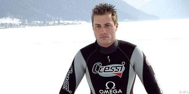 Österreicher tauchte zu 100-m-Weltrekord