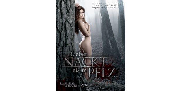 Christian Serratos nackt für Peta