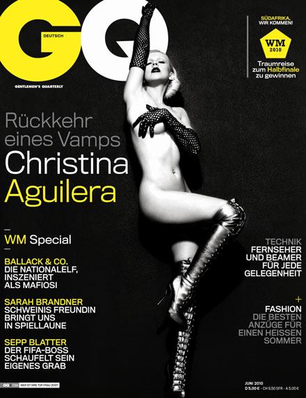 Christina Aguilera GQ groß